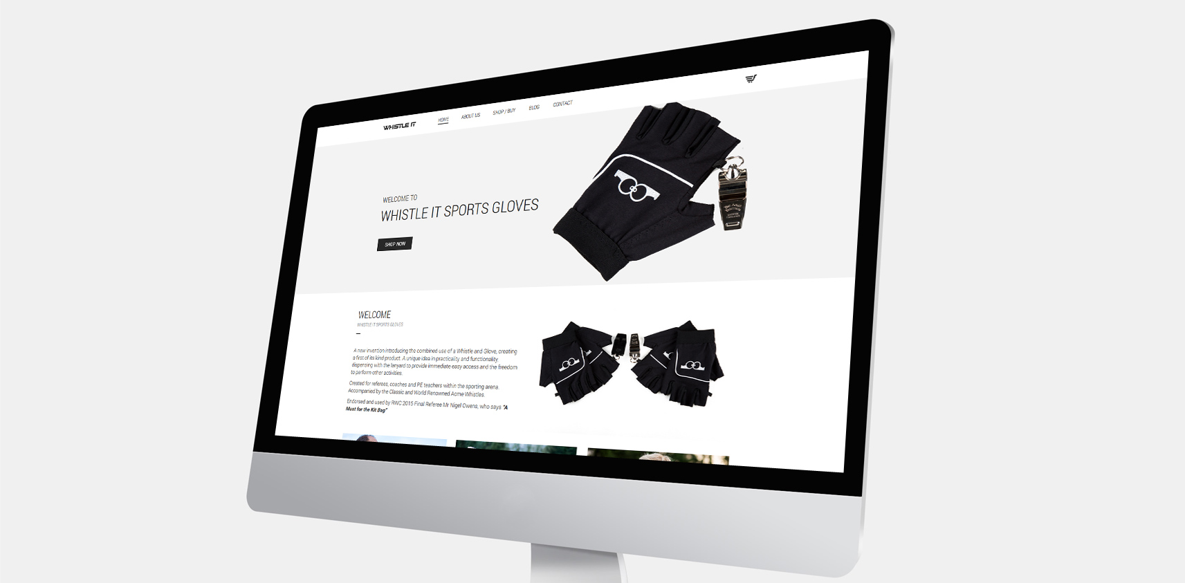 Whistle It Sports Gloves